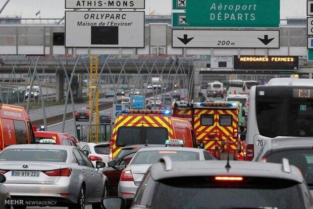 فرودگاه اورلی پاریس بسته می گردد