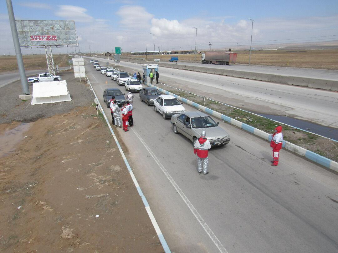 خبرنگاران 910 مسافر در مبادی ورودی خراسان رضوی تب سنجی شدند