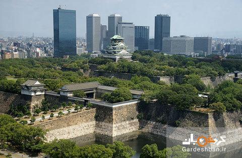 قلعه تاریخی اوساکا در ژاپن، عکس