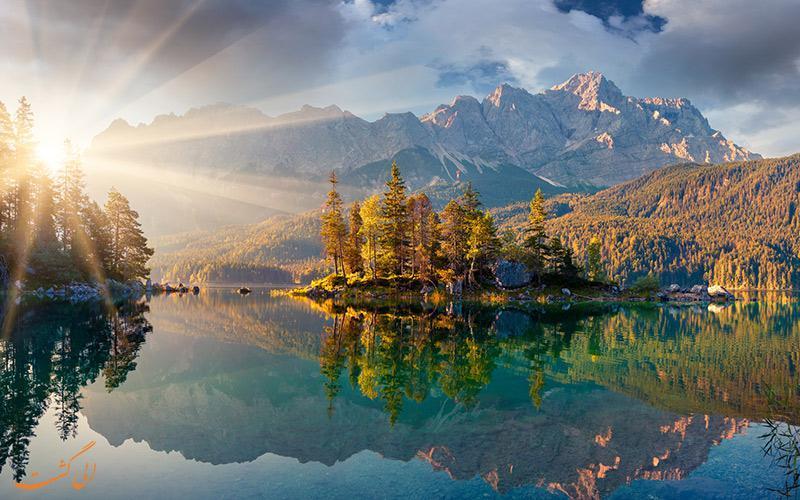 معرفی زیباترین دریاچه های اروپا و دهکده های همجوارشان