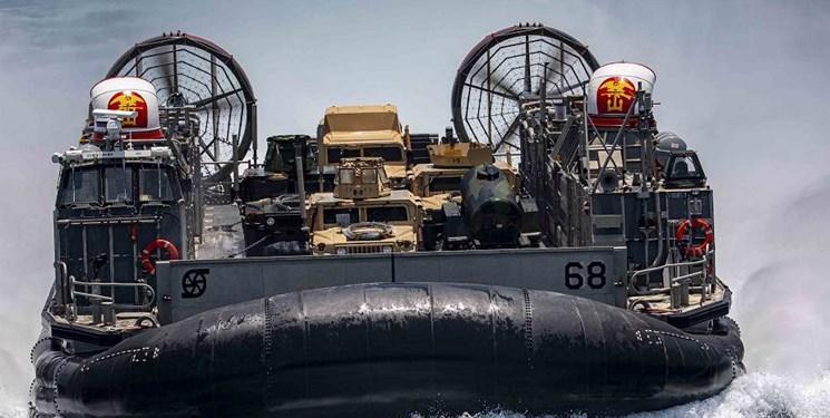 تحرک هواناوهای آمریکا در خلیج فارس
