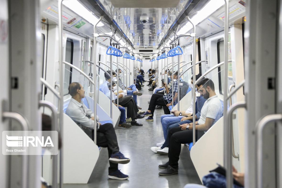 خبرنگاران ساعت کاری قطارشهری مشهد به روال عادی بازگشت