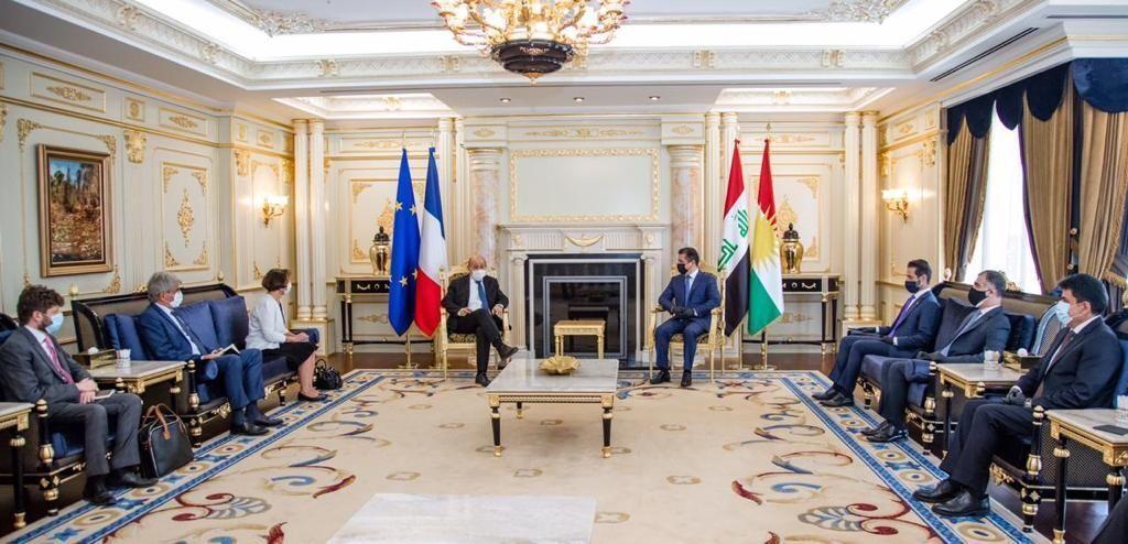 اعلام آمادگی فرانسه برای حمایت مالی از اقلیم کردستان عراق