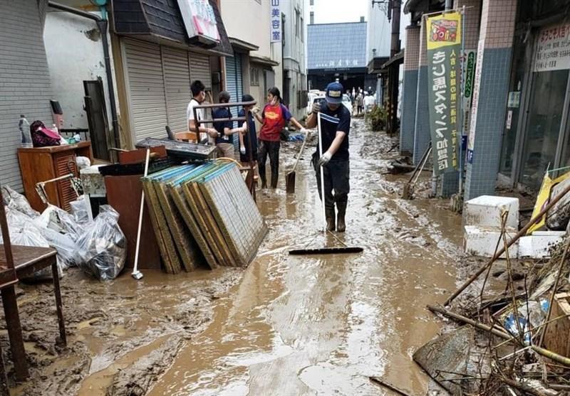 افزایش تعداد قربانیان باران شدید در ژاپن به 50 نفر