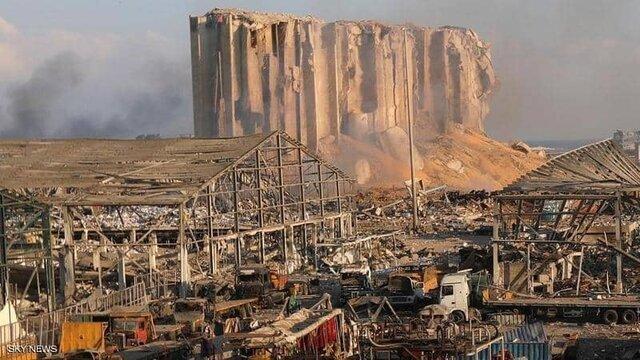 قبل و بعد از انفجار بیروت از دید ماهواره روسیه