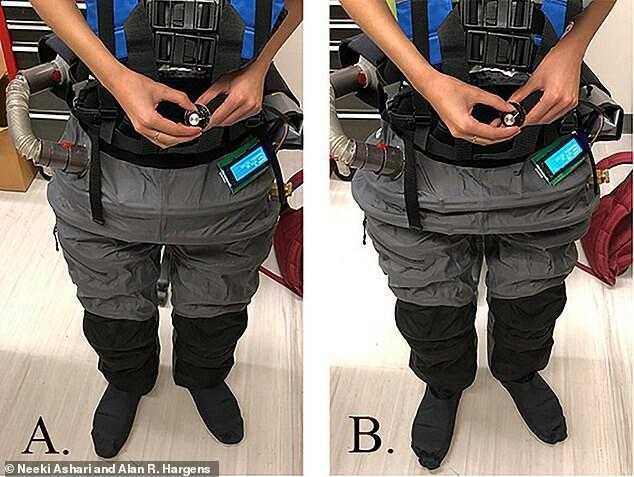 دختر ایرانی برای فضانوردان ناسا لباس فضایی طراحی کرد ، لباس گرانشی سیار مجهز به سیستم خلاء قابل حمل