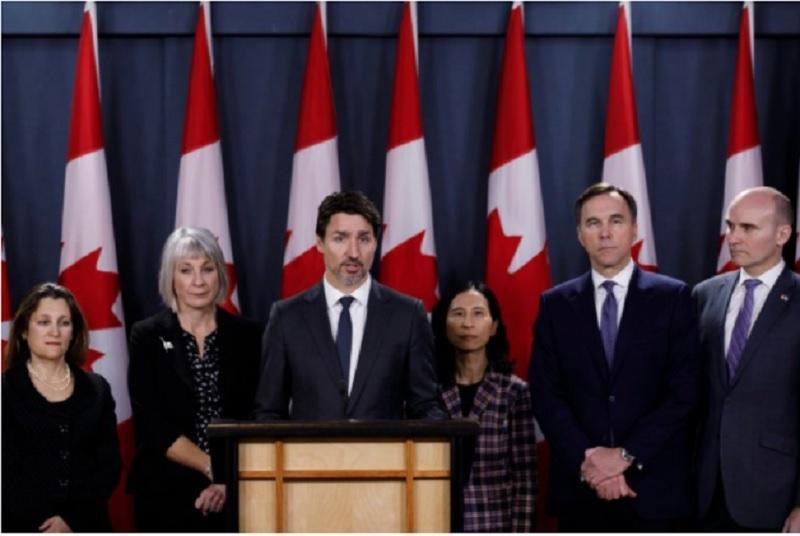 بر خلاف آمریکایی ها، بیشتر کانادایی ها از تدابیر دولت فدرال در مبارزه با کووید19 راضی هستند