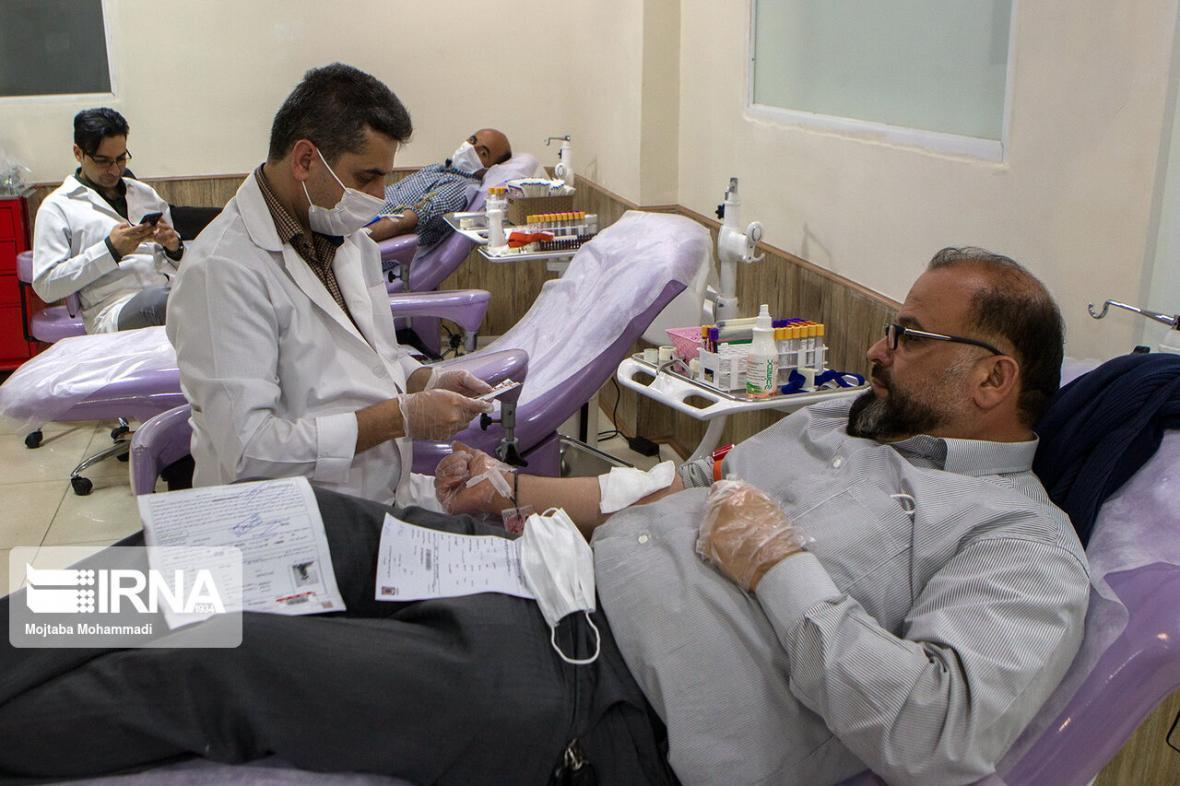 خبرنگاران بیش از شش هزار نفر در گیلان خون، پلاسما و پلاکت اهدا کردند
