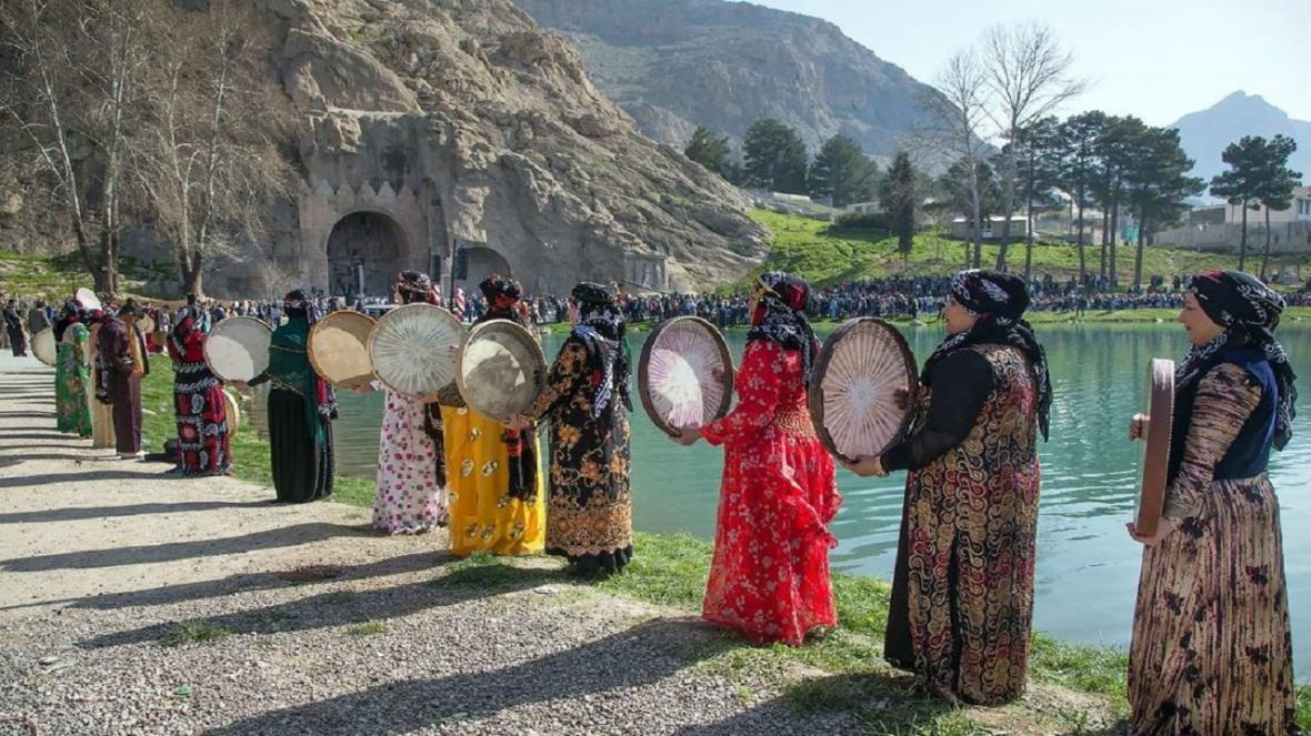 کرمانشاه میزبان جشن آخرین نوروز سده چهاردهم
