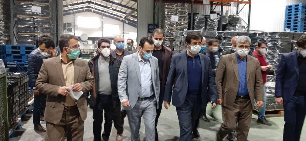خبرنگاران استاندار اردبیل: بخش خصوصی برای حضور پررنگ در صنعت استان حمایت می گردد