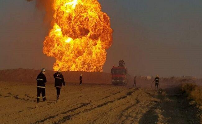 53 کشته و زخمی در حادثه انفجار خط لوله گاز در جنوب عراق