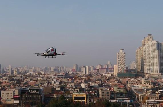 تاکسی هوایی در کره جنوبی راه اندازی شد