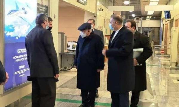 خبرنگاران وزیر نفت ایران وارد مسکو شد