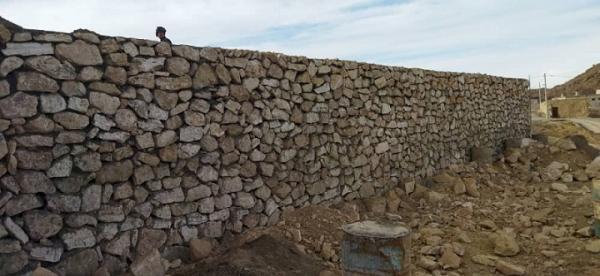 محوطه سازی ورودی آتشکده تاریخی آتشکوه در محلات
