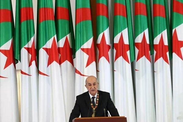 رئیس جمهور الجزایر از تجدید ساختار کابینه دولت اطلاع داد