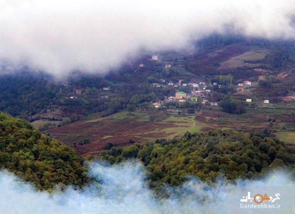 آرامش و لذت از زیبایی در روستای بهمنان سوادکوه، عکس
