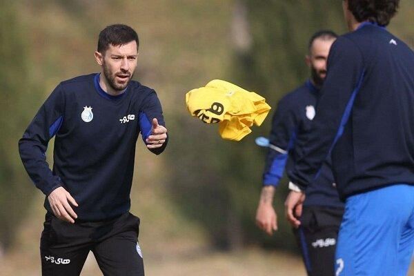 میلیچ از امروز در تمرین تیم فوتبال استقلال