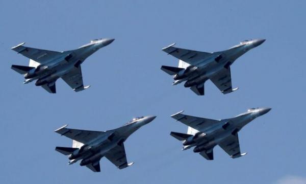 حملات هوایی روسیه به صحرای سوریه در تدارک عملیات جدید نظامی علیه داعش