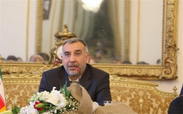 گفت وگوی نماینده ظریف با حنیف اتمر درباره مذاکرات صلح افغانستان